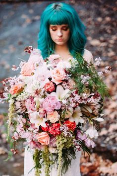 """The consensus built around """"monster bouquets,"""" Vandale tells http://Cosmopolitan.com. She now hashtags them #DramaBomb."""