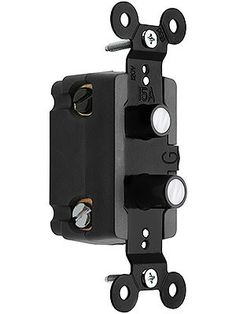 Push Light Switch. 3-Way Push Button Light Switch With Mother-of-Pearl Inlay