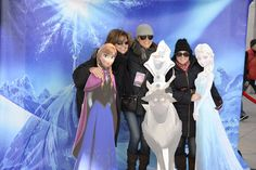 Frozen Photobooth at the 2014 Tanger Holiday Tree Lighting