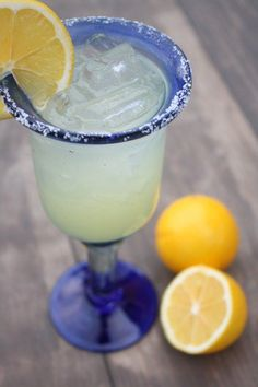 Meyer Lemon Margarita!
