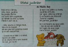 Sfatul jucariilor Kids Education, Nursery Rhymes, Teacher Resources, Kids And Parenting, Language, Songs, Activities, School