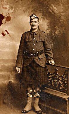 Private Thomas Henry Green, 12th Battalion, Argyll & Sutherland Highlanders