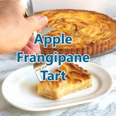 Tart Recipes, Almond Recipes, Apple Recipes, Baking Recipes, Dessert Recipes, Dessert Tarts, Frangipane Recipes, Frangipane Tart, Almond Frangipane Cake Recipe