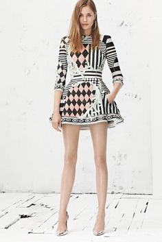 Balmain Resort 2013 - Collection - Gallery - Look 1 - Style.com