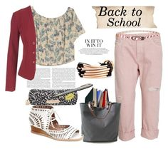 """Going back to school"" by natasha-r-catz ❤ liked on Polyvore featuring Elle, Acne Studios, Independent Reign, rag & bone, OTTE, maurices, Jeffrey Campbell, Gillian Julius, Betsey Johnson and Porsche Design"