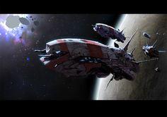 Spaceship (By Maxim Revin)