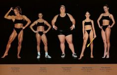 A common misconception is that health and the size/shape of your body are directly related. While there is sometimes a correlation, you really can't judge a stranger's health just by looking at them. These 5 women are all Olympians, and they're all healthy, despite the fact that they all look different!