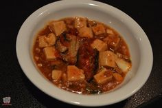 Spicy Tofu with Minced Pork