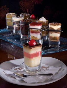 Mini Dessert Glasses Recipes   ... new mini desserts it s a single shot glass full of dessert just