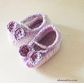 Warrior princess baby shoes pattern by Maro Akamatra