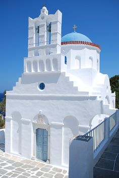 Sifnos, Panagia Poulati by polluxe75, via Flickr