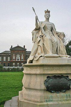 Kensington Palace, London, former home of the late Princess Diana