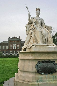 Kensington Palace, London, former home of the late Princess Diana