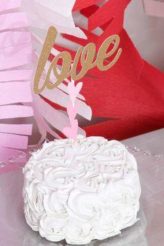 Pink + Red Love Themed Bridal Shower via Kara's Party Ideas KarasPartyIdeas.com #bridalshowerideas #loveparty #redandpinkparty #vday #valentinesparty (9)