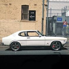 Ford Capri. My boyfriend had one exactly the same now my husband for 38 years
