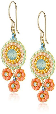 Miguel Ases Coral and Swarovski Triple Circle Small Drop Earrings Miguel Ases http://www.amazon.com/dp/B00TPL4F2O/ref=cm_sw_r_pi_dp_BY6Kwb0KA5RVS