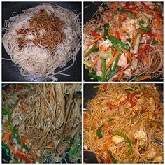 KRISTIN food and drink: simple cooking Ultimate Spicy Chicken Lo Mein Recipe Best Chinese Food, Easy Chinese Recipes, Asian Recipes, Oriental Recipes, Healthy Recipes, Spicy Chicken Lo Mein Recipe, Chicken Recipes, Takeout Restaurant, Braised Chicken