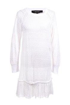 #IsabelMarant | Verspieltes #Spitzenkleid aus reiner Baumwolle, Gr. M | Isabel Marant Kleid | mymint-shop.com | Ihr #OnlineShop für #Secondhand / #Vintage #dress #Designerkleidung & Accessoires bis zu -90% vom Neupreis das ganze Jahr #mymint