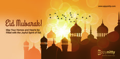 #EidMubarak! May your homes and hearts be filled with the joyful spirit of Eid.