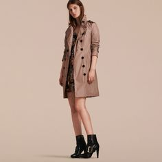 Long Technical Trench Coat | Burberry