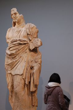Statue from the Elgin Marbles at the British Museum    http://authorsmania.com/