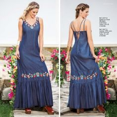 Ebba Kritterium - Holidays New Collection 2016 Modest Dresses, Sexy Dresses, Summer Dresses, Denim Fashion, Boho Fashion, Fashion Outfits, Over 60 Fashion, Kurti Designs Party Wear, Latest African Fashion Dresses