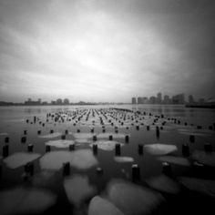 Stefan Killen | Pinhole New York Pinhole photograph of Hudson River
