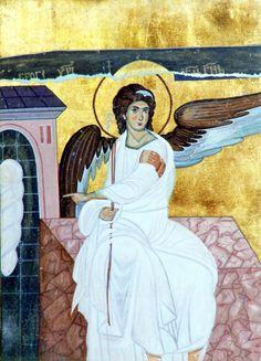 Ο Άγγελος στον Τάφο του Κυρίου.