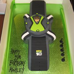 Order On 8311 Ben 10 Cream Cake Yellow Buttercake With Cookies 7th Birthday Party Ideas, Harry Birthday, Birthday Parties, Cookie Cake Designs, Ben 10, Cream Cake, Cake Cookies, Fondant, Cake Decorating