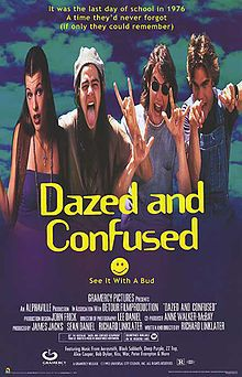 Doing Dazed and Confused.. we went to several of the filming locations in Austin. It was so much fun!