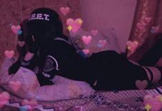 Wall paper preto e roxo tumblr 32 super Ideas #wall Aesthetic People, Red Aesthetic, Aesthetic Grunge, Aesthetic Pictures, Aesthetic Anime, Soft Grunge Hair, Grunge Girl, Cool Anime Girl, Anime Art Girl