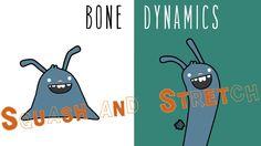 Pros Tip | Bone Dynamics: Easily Apply Principles of Animation | Anime S...