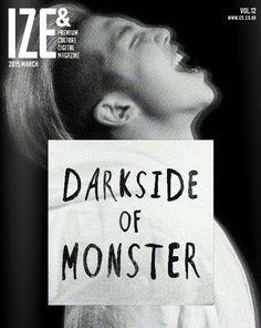 150327 RapMonster IZE MAGAZINE E-BOOK: DARKSIDE OF MONSTER
