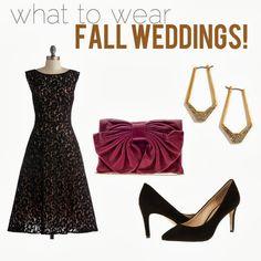 What To Wear Fall Wedding Season