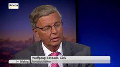 Im Dialog: Michael Hirz mit Gespräch mit Wolfgang Bosbach am 09.09.16