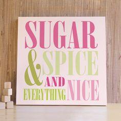 Sugar and Spice - Trendy Peas