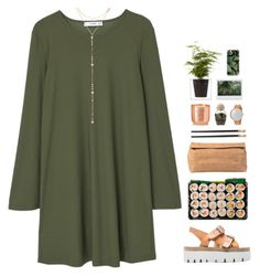 """""""11.3.17 // 15:00"""" by theonlynewgirl ❤ liked on Polyvore featuring MM6 Maison Margiela, MANGO, Casetify, Boskke, Skagen, Tom Dixon, Marie Turnor, L'Objet and Fragments"""
