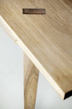 Timber Table by Julian Kyhl