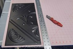 Styrofoam faux tin ceiling tile cut with utility knife Styrofoam Ceiling Tiles, Faux Tin Ceiling Tiles, Home Ceiling, Ceiling Ideas, Covering Popcorn Ceiling, Light Fixture Covers, Ceiling Installation, Dropped Ceiling, Painted Trays