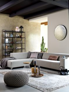 modern furniture make the room more beautiful. Home Living Room, Living Room Decor, New Furniture, Furniture Design, Eames, All White Bedroom, Loft Design, Lounge, Home And Deco
