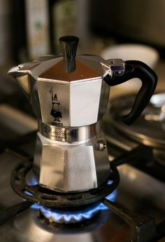 Bialetti Moka pot: My favorite way to make coffee at home. So easy, no fuss!