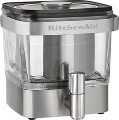 KitchenAid - Cold Brew Coffee Maker - Brushed Stainless Steel