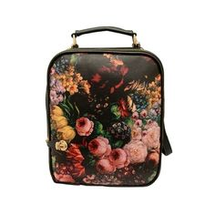 Oil Painting Graphic Backpack ($30) found on Polyvore