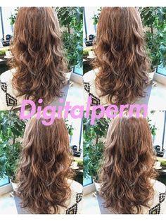 黒髪でもOK・外国人風デジタルパーマのお客様仕上がりm - 24時間いつでもWEB予約OK!ヘアスタイル10万点以上掲載!お気に入りの髪型、人気のヘアスタイルを探すならKirei Style[キレイスタイル]で。