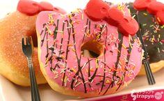 Hello Kitty Jumbo donuts squishies.