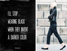 fashion friday- beautiful black
