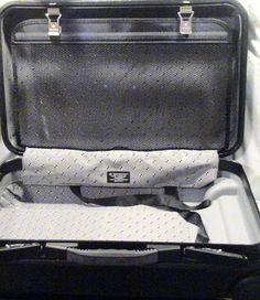 """Samsonite Acclaim 22"""" Black Hardcase CarryOn Luggage w/Wheels & Extension…"""