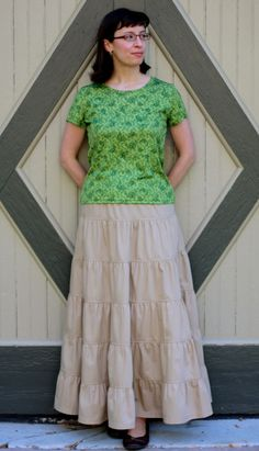I would love to get this skirt for me & the girls, or make something like it myself! I love this style of skirt!