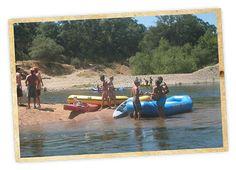 Lower American River Rafting