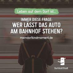 Wer hat das Auto am Wochenende stehenlassen müssen? :D - http://ift.tt/2vWqmYN - #dorfkindmoment #dorfstattstadt